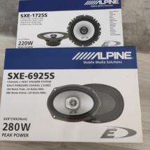 Alpine SXE-1725S Alpine SXE-6925S