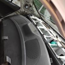 Corolla E150 rear factory speaker placement