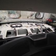 Corolla E150 rear adaptor ring Alpine SXE-6925S replacement